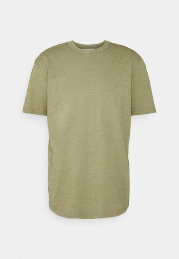 SLHRELAXHERB O NECK TEE - T-shirt - bas - aloe