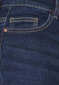 ONLY Tall - ONLHUSH BUTTON TALL - Denim shorts - dark blue denim - 2