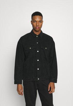 ENO JACKET - Denim jacket - worn black