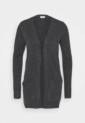 VIHANNA OPEN - Cardigan - dark grey melange