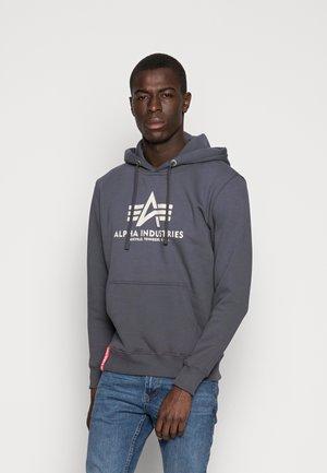 BASIC HOODY - Bluza z kapturem - grey