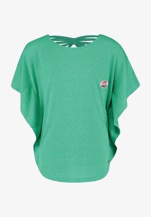 Print T-shirt - mid mint