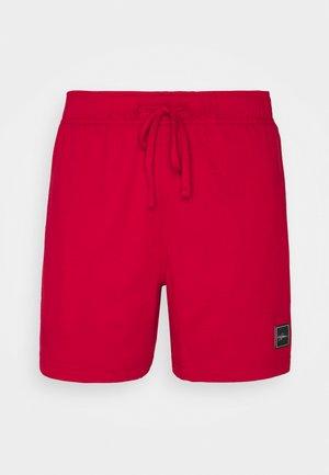 LOUNGE BOTTOM - Pyžamový spodní díl - red