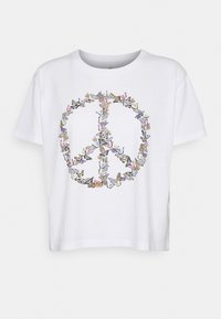 GRAPHIC EARTH DAY TEE - Print T-shirt - white