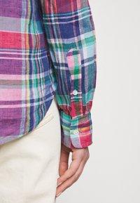 Polo Ralph Lauren - PLAID - Button-down blouse - pink/blue - 5