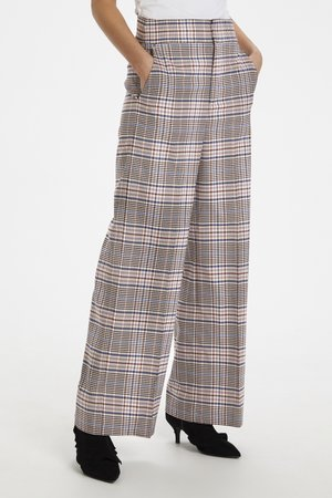 ADALIA - Trousers -  rose