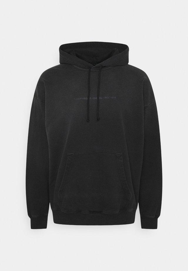 S-UMMERIB-A81 FELPA - Hoodie - black