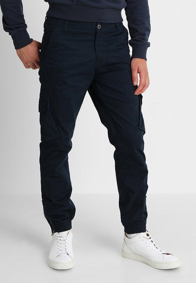 BATTLE ZIP - Cargo trousers - us navy