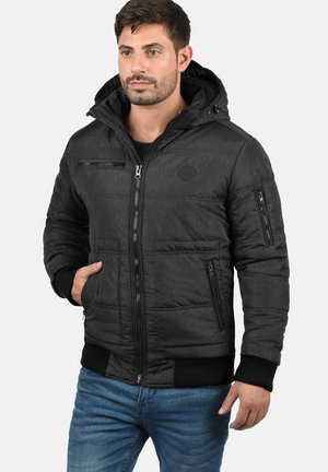 BORIS  - Winter jacket - black tedd