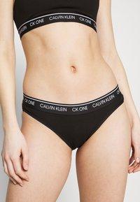 Calvin Klein Underwear - PRIDE CAPSULE BIKINI - Kalhotky - black - 0