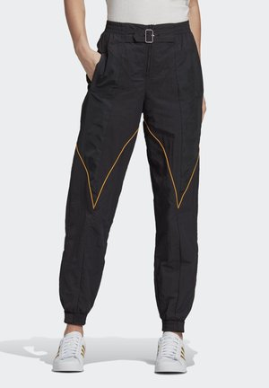 Paolina Russo - Tracksuit bottoms - black/black/active gold