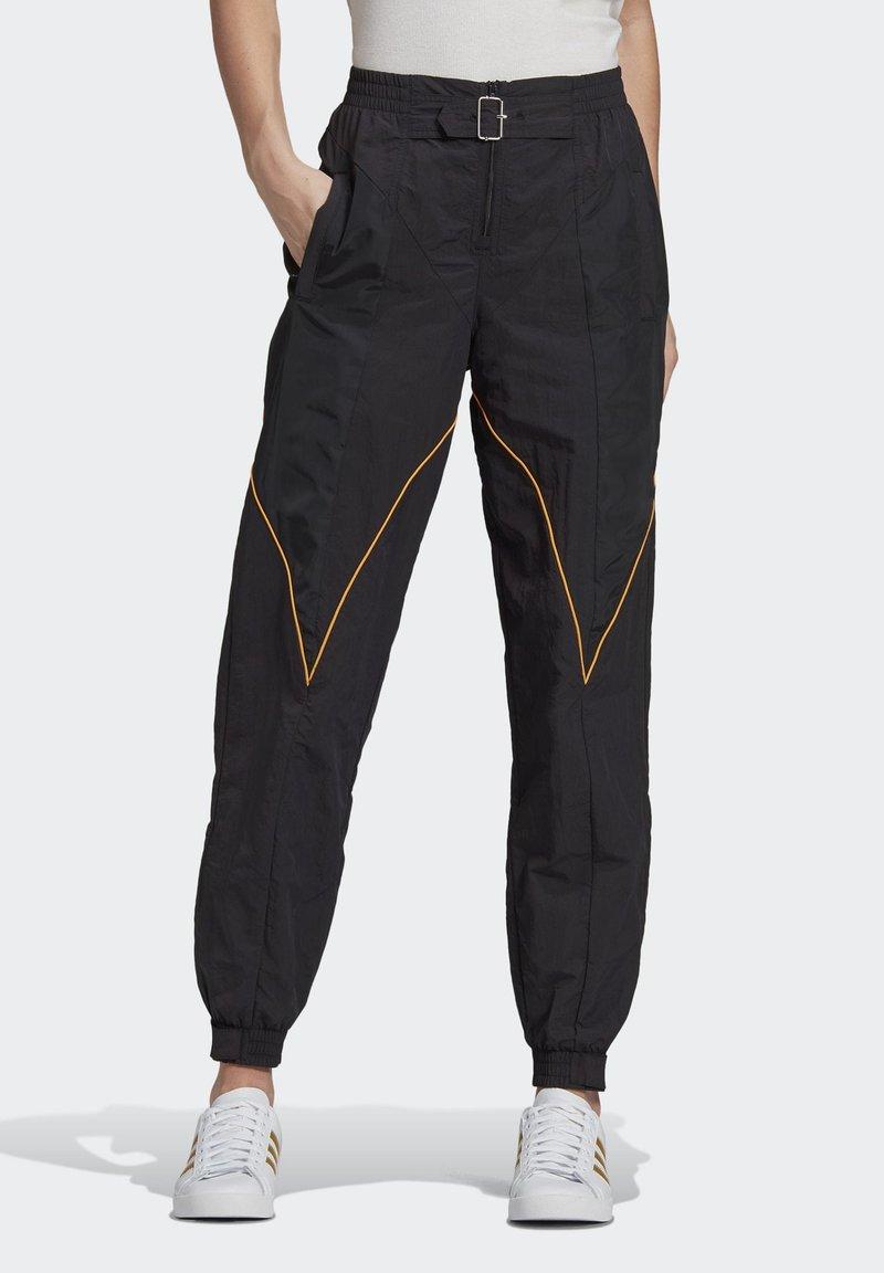 adidas Originals - Paolina Russo - Joggebukse - black/black/active gold