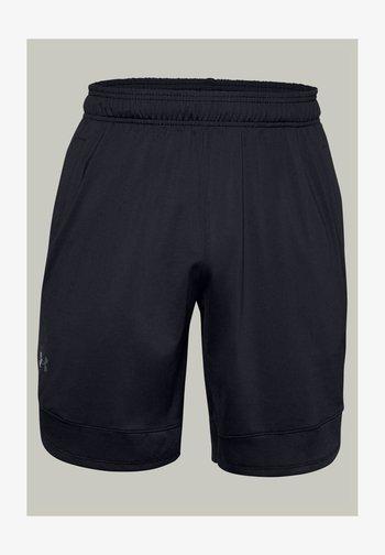 TRAIN STRETCH - Sports shorts - black