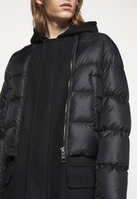 Neil Barrett - HYBRID PUFFER DUFFLE COAT - Zimní kabát - black - 5