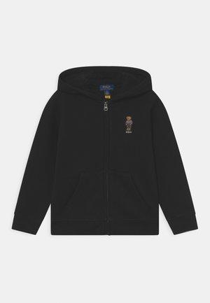HOOD FULL ZIP - Bluza rozpinana - polo black