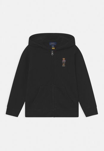 HOOD FULL ZIP - Zip-up sweatshirt - polo black