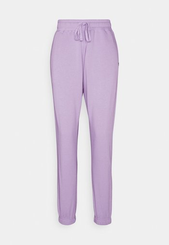 LIFESTYLE GYM TRACK PANTS - Tracksuit bottoms - chalky lavender