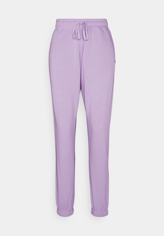 LIFESTYLE GYM TRACK PANTS - Trainingsbroek - chalky lavender