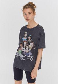 PULL&BEAR - DISNEY - Print T-shirt - black - 0