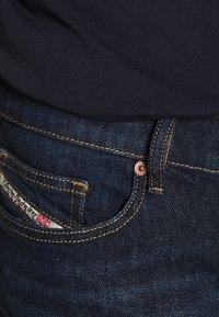 Diesel - D-LUSTER - Slim fit jeans - dark blue denim - 4