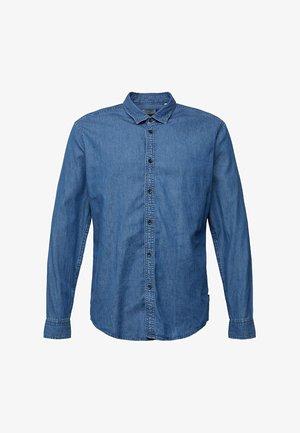 Shirt - blue medium washed