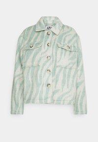 JDYLOLES ANIMAL SHIRT SHACKET - Summer jacket - simple taupe/abyss