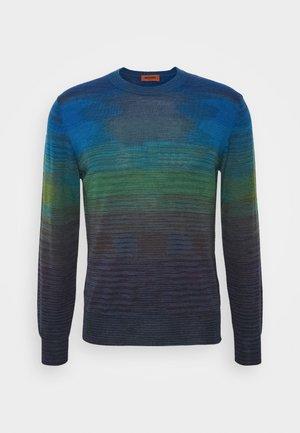 LONG SLEEVE CREW NECK - Maglione - dark blue