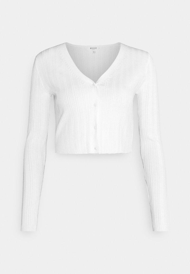 Missguided Petite - Cardigan - white