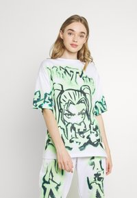 Jaded London - NOT YOUR - T-shirts med print - green - 0