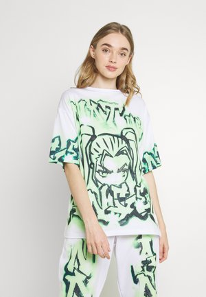 NOT YOUR - T-shirt con stampa - green