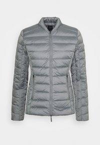 Armani Exchange - GIACCA PIUMINO LIGHT WEIGHT - Down jacket - heather grey - 0