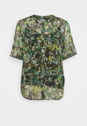 BLOUSE CRINKLE  - Print T-shirt - green