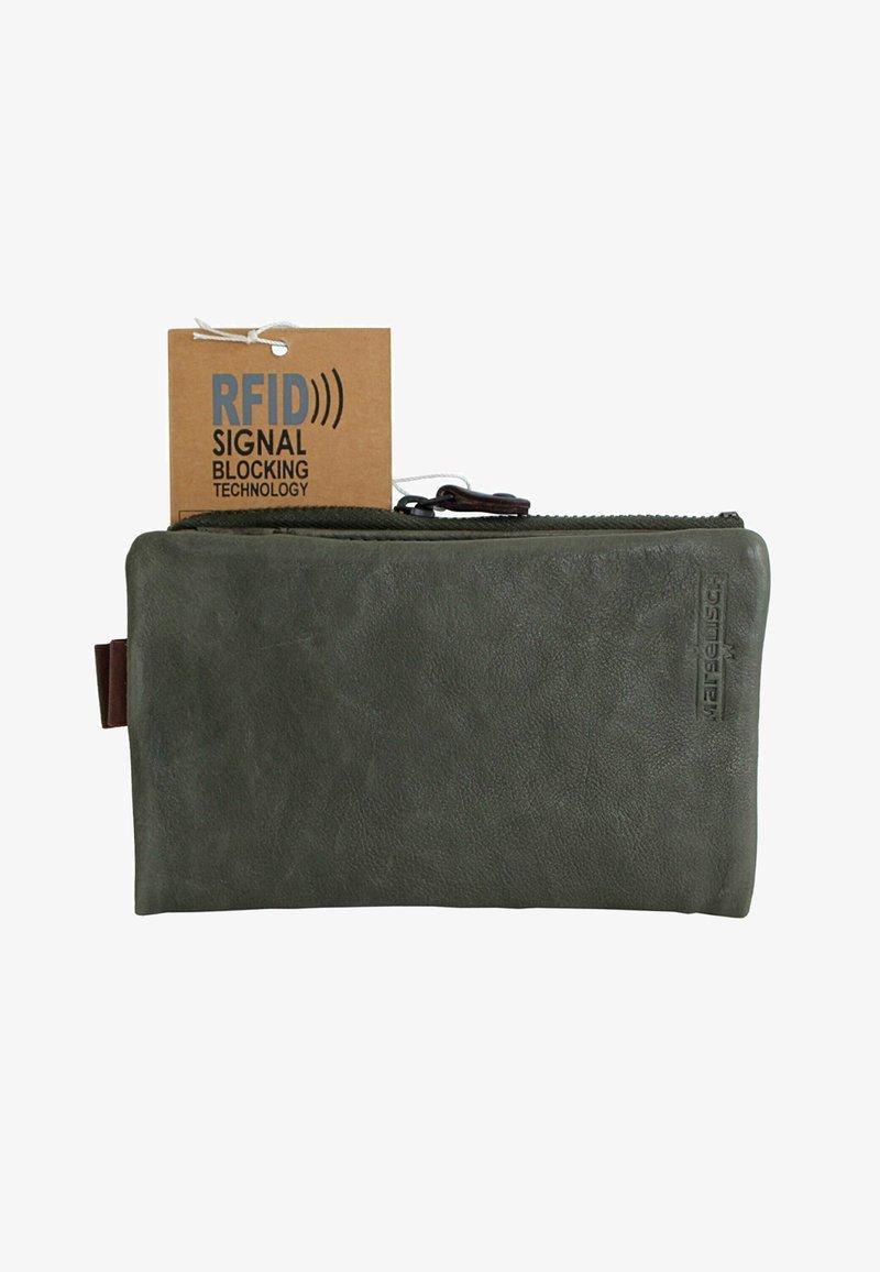 Margelisch - HAMBURG  - Wallet - mud green