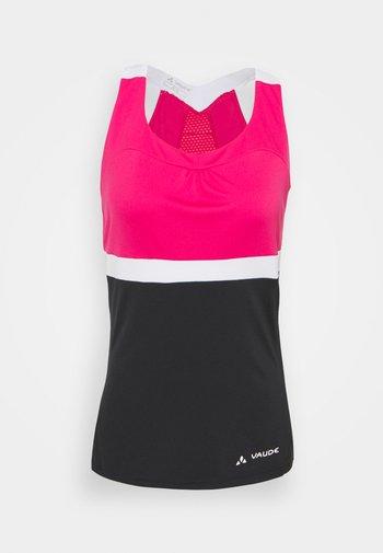 ADVANCED  - Top - black/pink