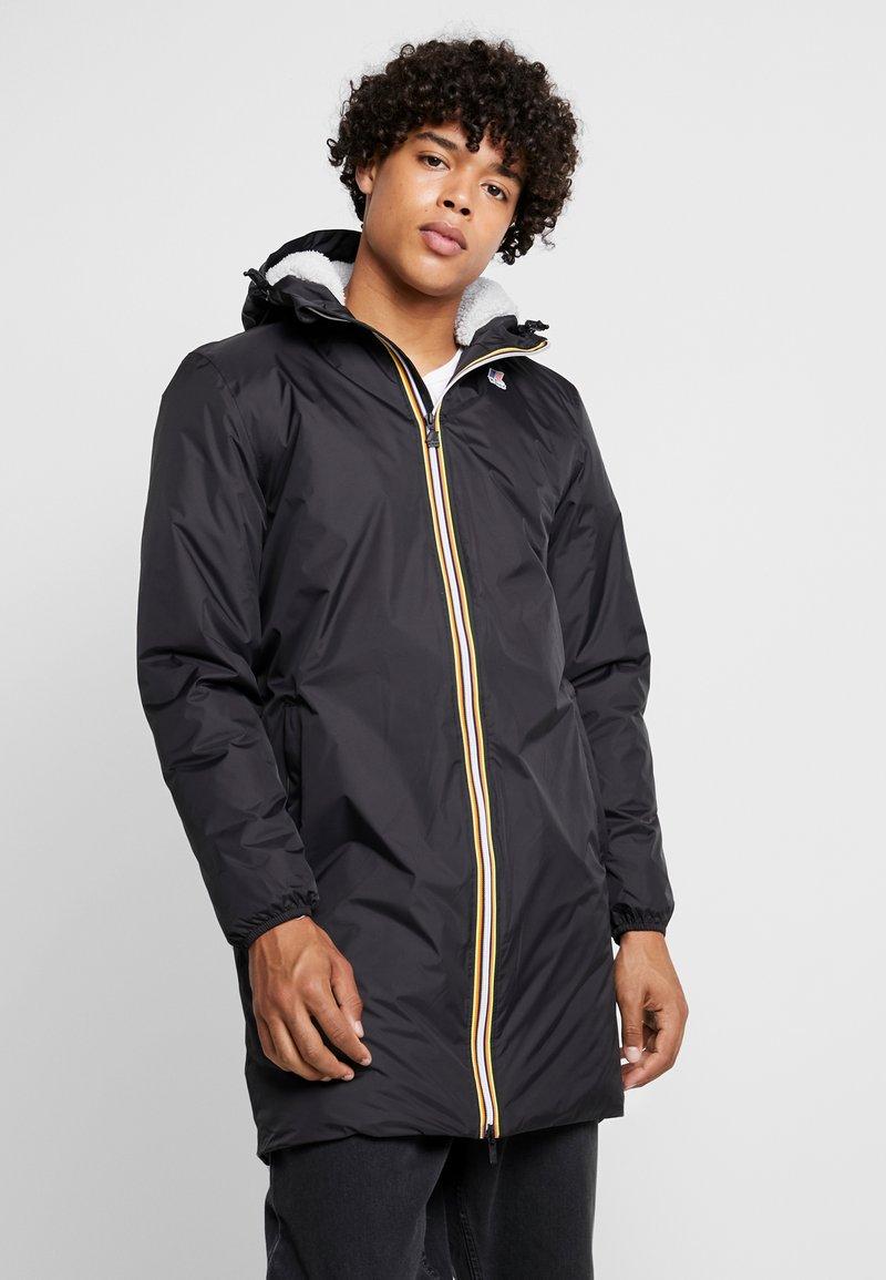K-Way - UNISEX LE VRAI EIFFEL ORSETTO - Winter coat - black