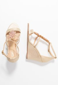 Lulipa London - LISETTE - High heeled sandals - gold - 3