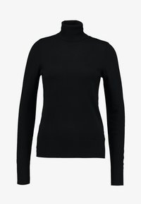 Saint Tropez - ROLL NECK - Svetr - black - 4
