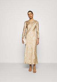 Banana Republic - BIAS DRESS - Maxi dress - brown - 1