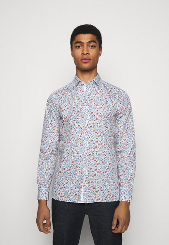 FLORAL OUTLINE PRINT - Shirt - white/multi