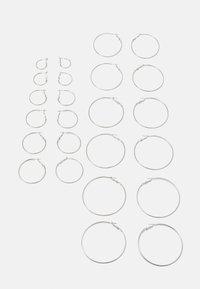 LAURA EARRINGS 12 PACK - Oorbellen - silver-coloured
