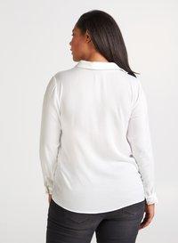 Zizzi - Button-down blouse - off-white - 2