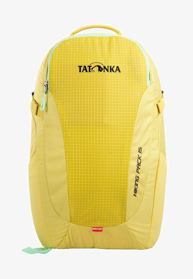 Tatonka - HIKING PACK 15 - Rucksack - yellow