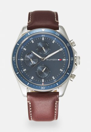 PARKER - Watch - brown/blue