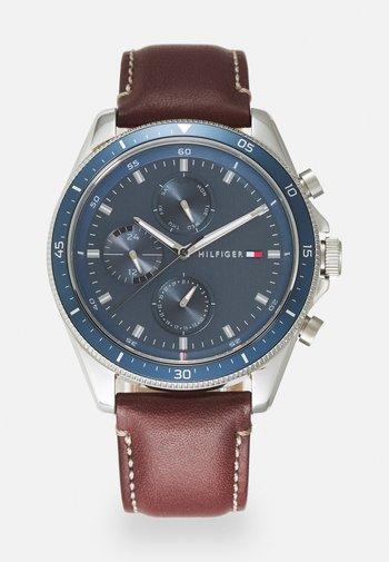 PARKER - Watch - brown/blue