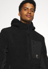 Superdry - ALPINE MID LAYER - Fleecejacka - black - 3
