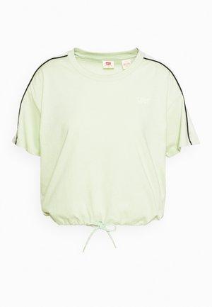 GINGER NYLN PIECE TEE - T-shirt z nadrukiem - ginger pieced tee bok choy/tofu/caviar