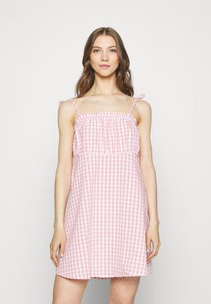 MATILDA TIE STRAPPY MINI DRESS - Day dress - fairy floss
