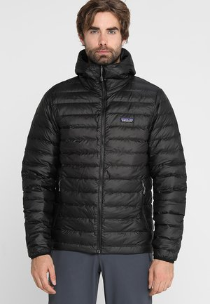 SWEATER HOODY - Down jacket - black
