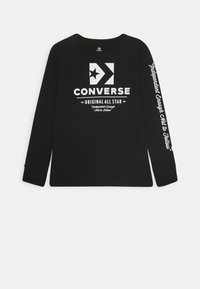 Converse - ORIGINALS WORDMARK TEE - T-shirt à manches longues - black - 0