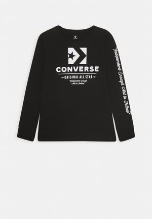 ORIGINALS WORDMARK TEE - Long sleeved top - black